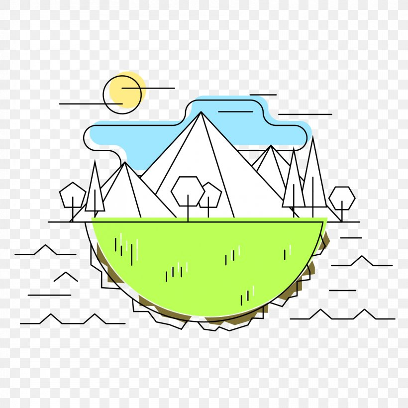 Mountain Clip Art - Mountain Iceberg Car #514568 - PNG Images - PNGio