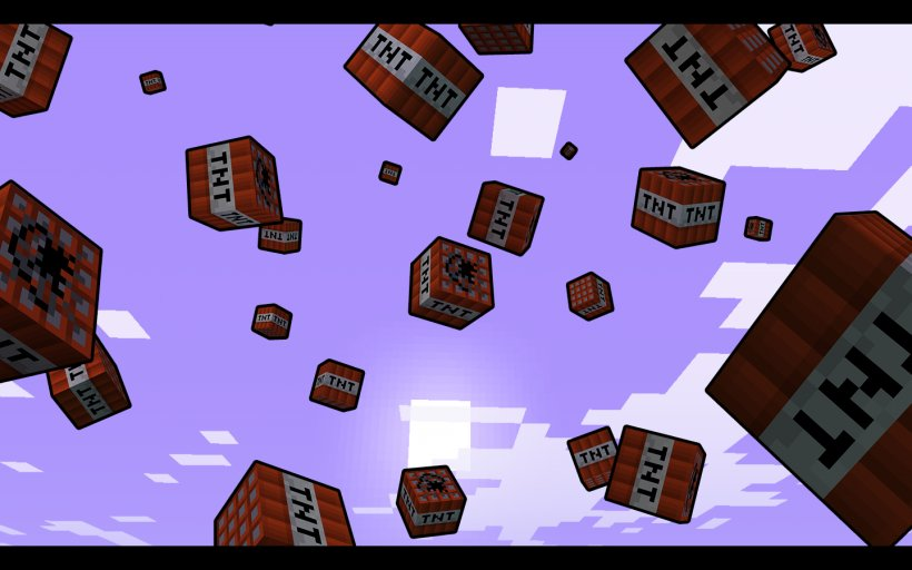 Minecraft Pocket Edition Tnt Express Video Game Png