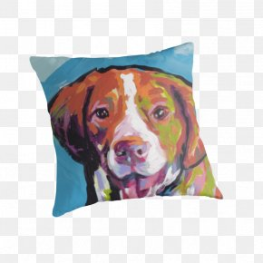 Throwing Rubbish - Dog Breed Throw Pillows Cushion PNG