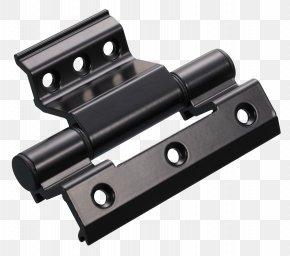 Black Aluminum Alloy Doors And Windows Accessories - Window Hinge Aluminium Alloy PNG
