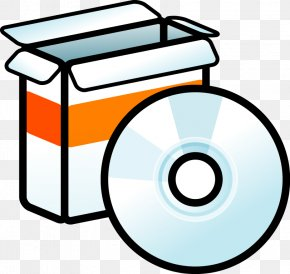 CD Packaging Vector Effect - Free Software Graphics Software Clip Art PNG