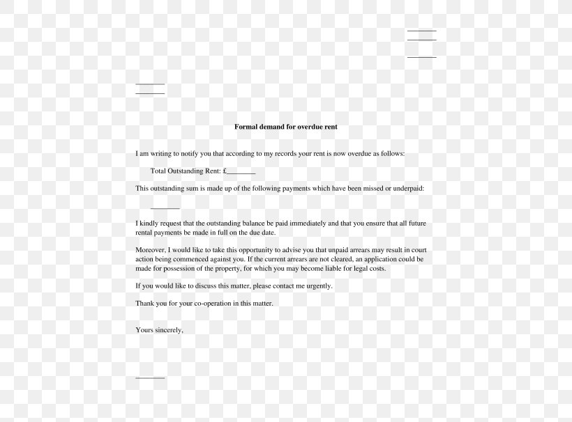 Letter Of Rent Payment from img.favpng.com