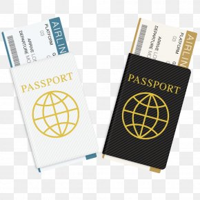 Vector Passport Travel Book - Passport Stamp Travel Visa PNG