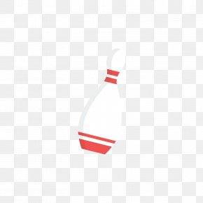 Red And White Bowling Ball Bottles - Bowling Pin Red Ten-pin Bowling PNG