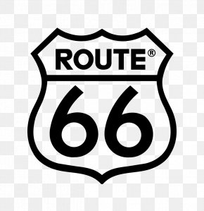 Route - U.S. Route 66 In Illinois Road Highway Logo PNG
