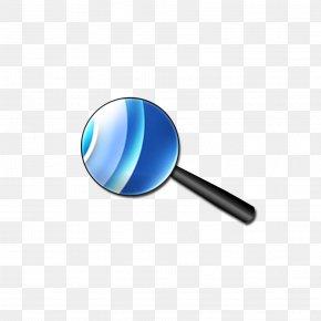 Blue Lens Magnifying Glass - Blue Magnifying Glass Lens PNG