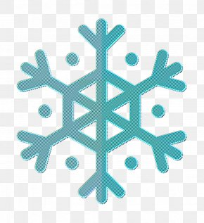 Turquoise Weather Icon - Snow Icon Snowflake Icon Weather Icon PNG