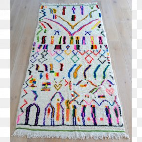 Carpet - Azilal Moroccan Rugs Carpet Weaving Textile PNG