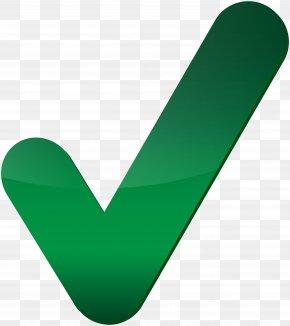 Green Check Mark Clip Art Image - Green Heart Angle Font PNG
