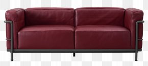 Red Leather Lobby Couch Picture - Loveseat Couch Cassina S.p.A. Chair Furniture PNG