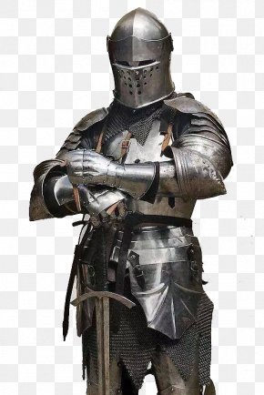 Knight Armour - Middle Ages Knight Plate Armour Components Of Medieval Armour PNG