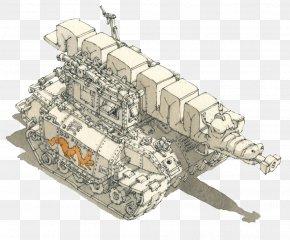 Simple White White Tank Illustrator - Drawing Mattias Adolfsson Watercolor Painting Illustrator Illustration PNG