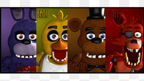 Five Nights At Freddy's Poster - Five Nights At Freddy's 2 Five Nights At Freddy's 3 Poster Image Illustration PNG