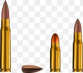 Vector Bullets And Bullet - Bullet Weapon Cartridge PNG