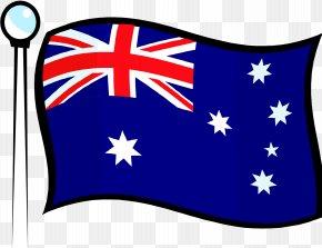 Australian Flag - Flag Of Australia Clip Art PNG