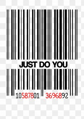 Barcode - Barcode Universal Product Code Label Nike PNG