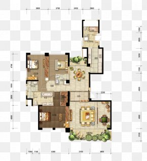 Apartment Flat Pattern Renderings - Floor Plan Interior Design Services Drawing PNG