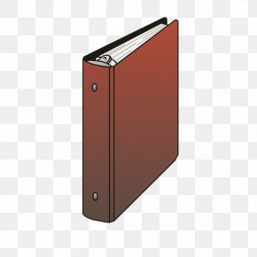 Brown Folder Graphic - Rectangle PNG