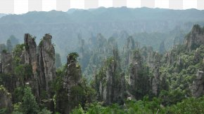 Zhangjiajie National Forest Park Seven - Zhangjiajie National Forest Park Tianzishanzhen Lishuya Wuwangpo Tourism PNG