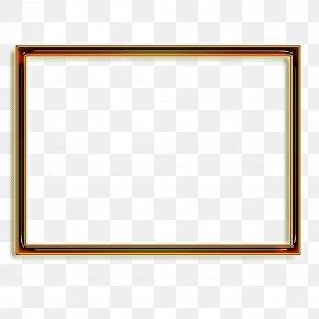 Rectangle Picture Frame - Background Black Frame PNG