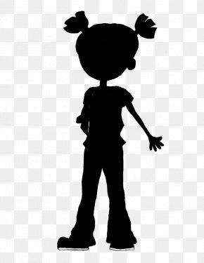 M Human Behavior Shoulder Character Clip Art - Black & White PNG