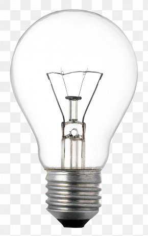 Light Bulb - Incandescent Light Bulb Lighting Fluorescent Lamp PNG