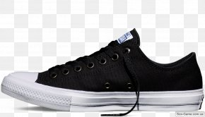 Converse Drawing - Chuck Taylor All-Stars Converse CT II Hi Black/ White Sneakers Shoe PNG