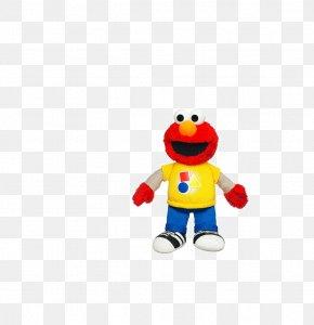 Smile Doll - Elmo Ernie Count Von Count Playskool Toy PNG