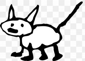 Christmas Cat Clipart - Black Cat Kitten Cartoon Clip Art PNG