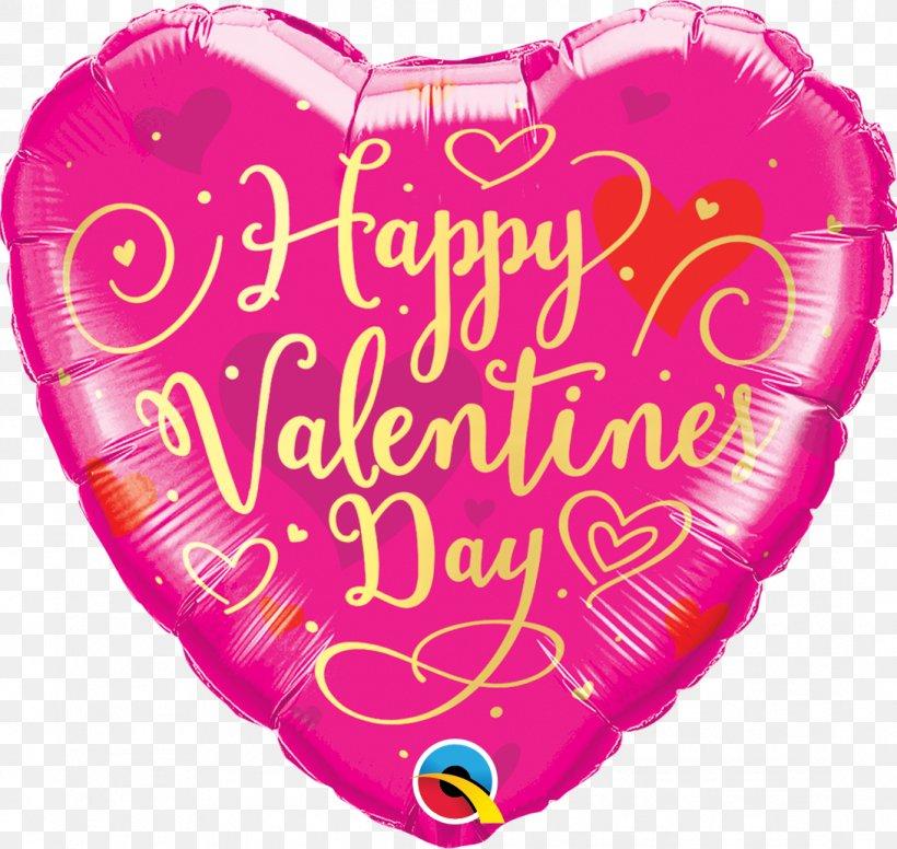 Mylar Balloon Valentine's Day Birthday Heart, PNG, 1091x1033px, Balloon, Anniversary, Birthday, Gas Balloon, Gift Download Free