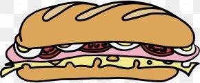 Tuna Sandwich Cliparts - Submarine Sandwich Delicatessen Bacon Sandwich Clip Art PNG
