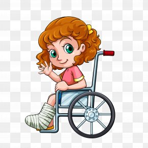 Wheelchair Beauty - Wheelchair Stock Photography Illustration PNG