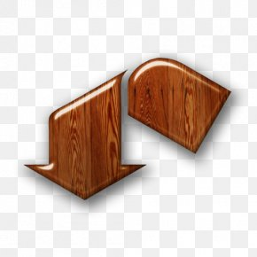 Wood Icon - Arrow Triangle Alphanumeric Download PNG
