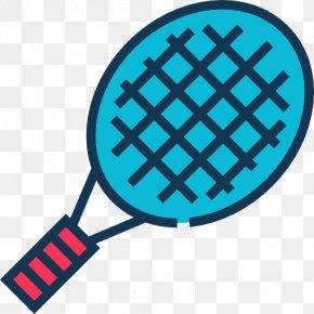Tennis Racket - Racket Tennis Icon PNG