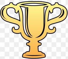 Trophy - Trophy Drawing Award Clip Art PNG