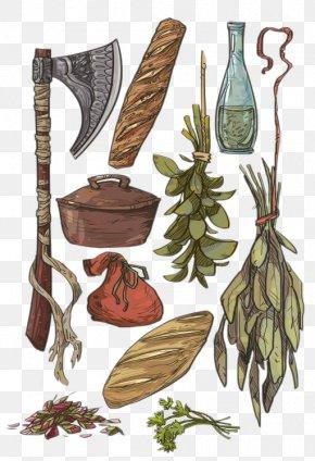 Food & Tools - Dungeons & Dragons Pathfinder Roleplaying Game DeviantArt Concept Art Sketch PNG