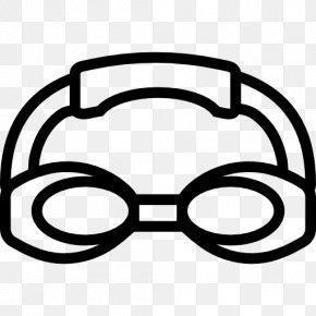 Goggles Vector - Swimming Goggles Sport Clip Art PNG