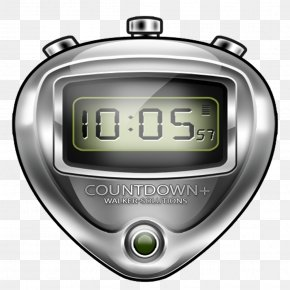 Predator Countdown Timer - GivesMeHope Mobile Phones Stopwatch PNG