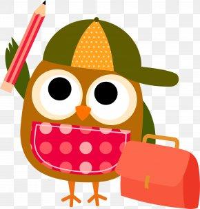 Owl Clip Art - Owl Student School Clip Art PNG
