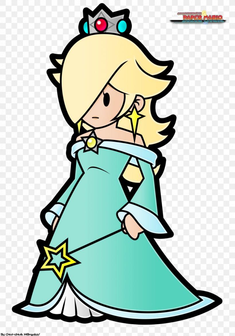 Super Mario Galaxy Paper Mario: Sticker Star Rosalina, PNG, 900x1286px, Super Mario Galaxy, Area, Art, Artwork, Bowser Download Free