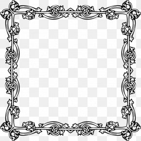 Fashion Border - Victorian Era Borders And Frames Picture Frames PNG