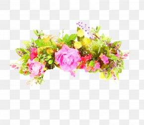 Floral - Watercolour Flowers Floral Design Watercolor Painting Clip Art PNG