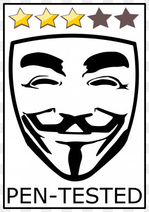 T-shirt - T-shirt Anonymous Guy Fawkes Mask Clip Art PNG