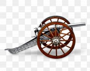 Civil War Cannon Wheel Spoke - Wheel Cannon Spoke Clip Art PNG