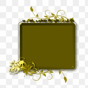 Beaut Background - Yellow Picture Frames Product Design Rectangle Font PNG