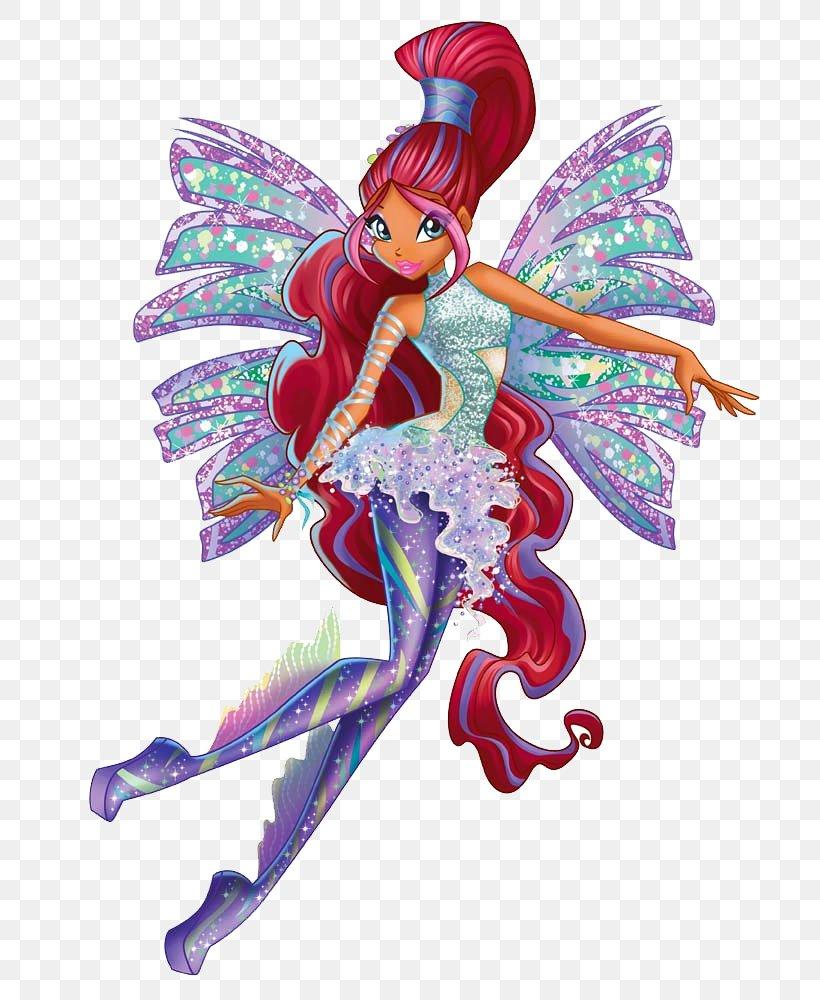 Aisha Bloom Musa Sirenix, PNG, 730x1000px, Aisha, Bloom, Butterfly, Digital Media, Doll Download Free