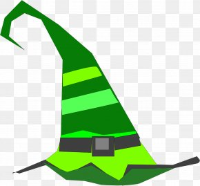 Hat - Witch Hat Clip Art PNG