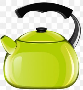 Yellow Kettle - Teapot Icon PNG