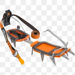 Ice Axe - Crampons Climbing Ice Axe Ski Mountaineering PNG