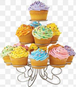 Cupcake Stand - Cupcake Muffin Chocolate Brownie Chocolate Truffle PNG